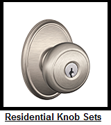 Residential Knobset Brands