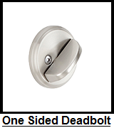 Schlage Deadbolt One Sided