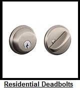 Residential Deadbolts