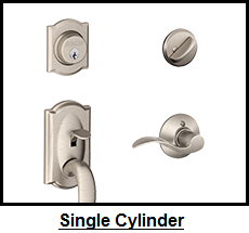 Schlage Single Cylinder Handlesets