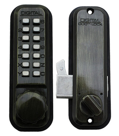 LockeuUSA 2500 Mechanical Keyless Combination Hook Bolt Lock