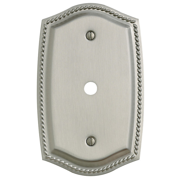 Baldwin 4795 Cable Cover Rope Switch Plate - Barzellock.com