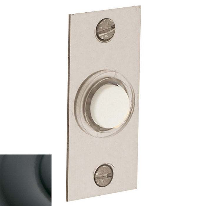 Baldwin 4853 Rectangular Bell Button - Barzellock.com