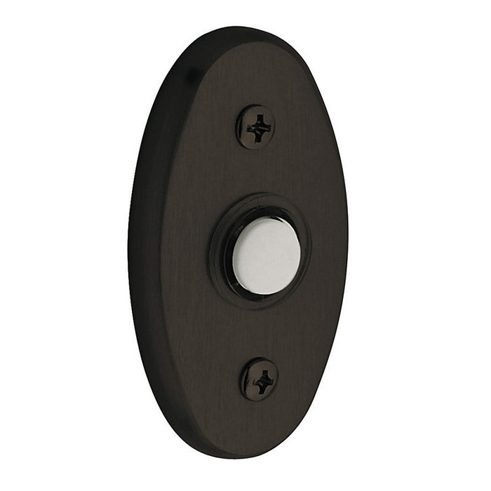 "Baldwin 4858 3"" Oval Bell Button"