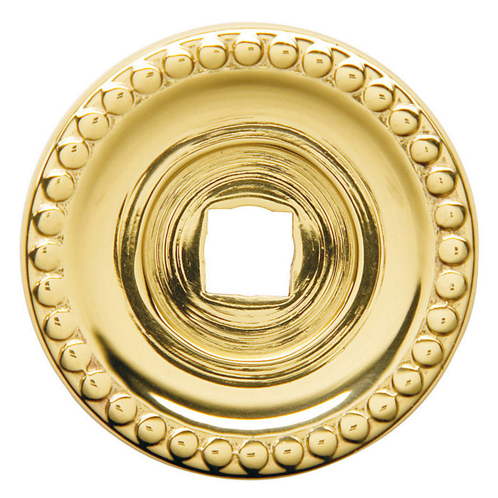 "Baldwin 4901 1.375"" Beaded Knob Back Plate"