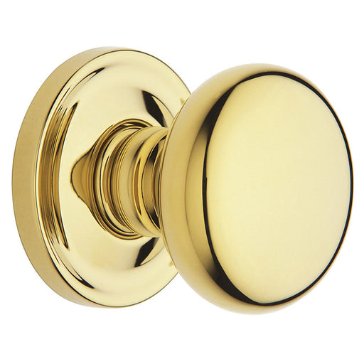 Baldwin 5015 Single 5015 Knob Less Rose - Barzellock.com