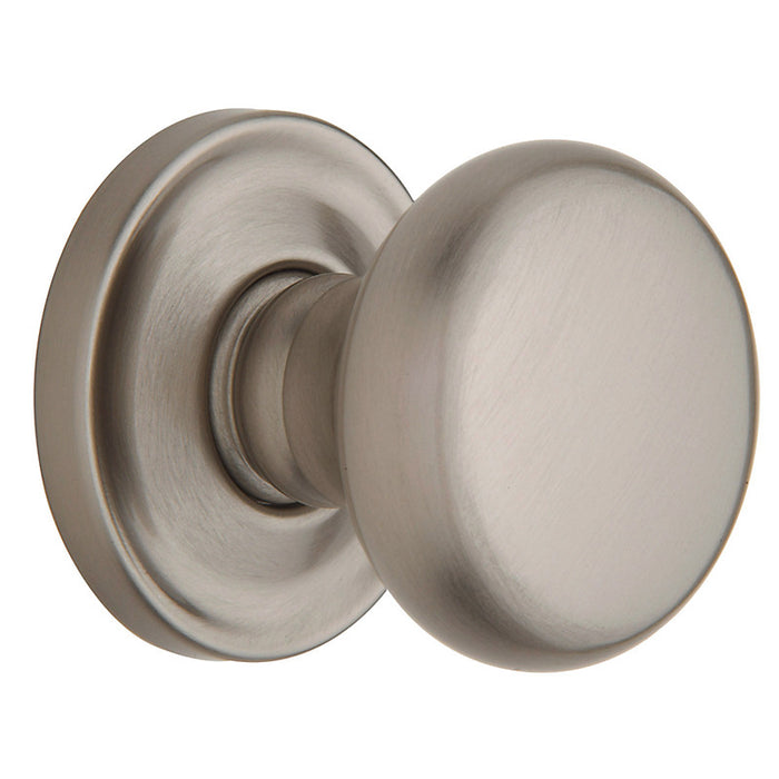 Baldwin 5015 Pair 5015 Knob Less Rose - Barzellock.com