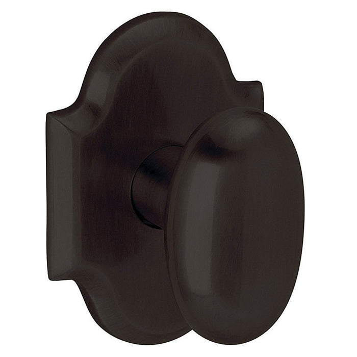 Baldwin 5024 Single 5024 Knob Less Rose - Barzellock.com