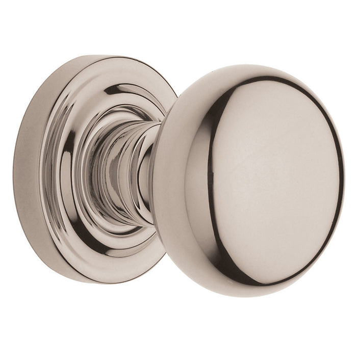 Baldwin 5030 Pair 5030 Knob Less Rose