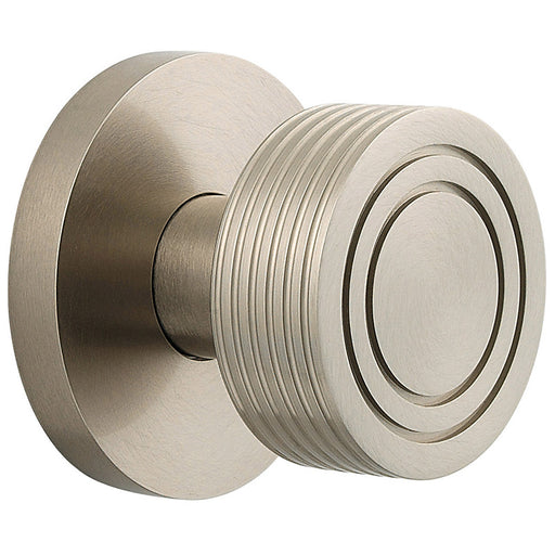 Baldwin 5045 Single 5045 Knob Less Rose - Barzellock.com