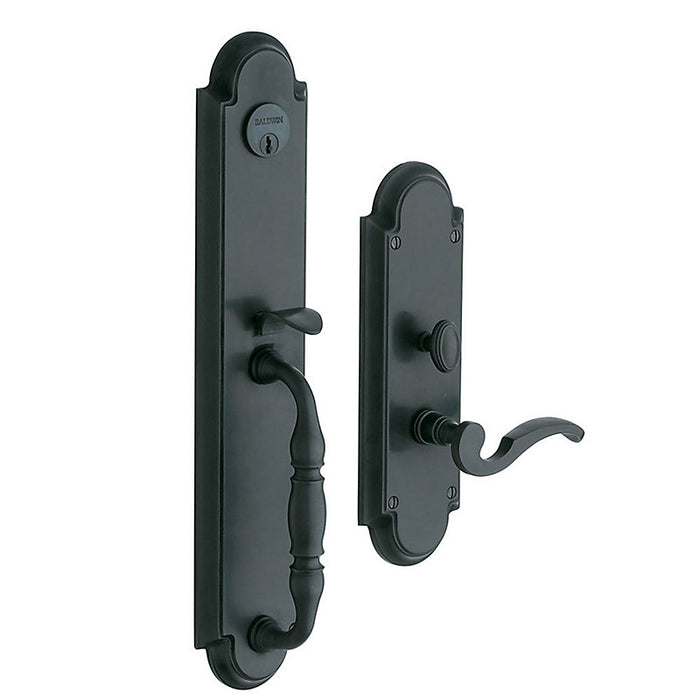 Baldwin 6544 Hamilton Entry Mortise Trim - Barzellock.com