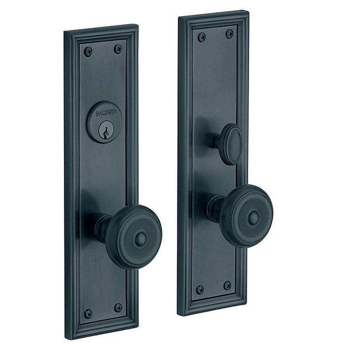 Baldwin 6547 Nashville Single Cylinder Entry Mortise Trim - Barzellock.com