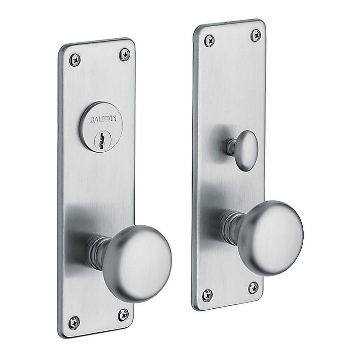 Baldwin 6551 Reading Single Cylinder Entry Mortise Trim - Barzellock.com
