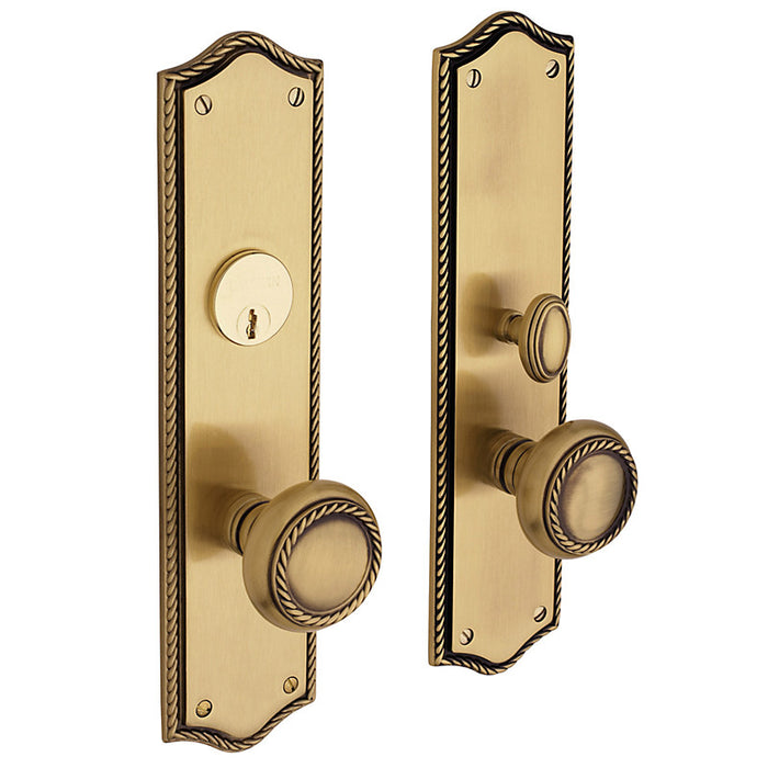 Baldwin 6554 Barclay Entry Mortise Trim - Barzellock.com