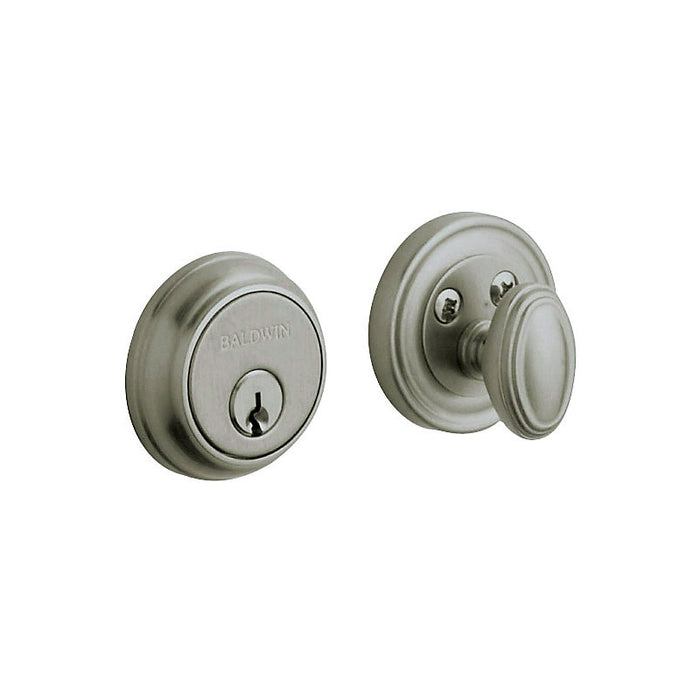 "Baldwin 8031 Traditional 1-5/8"" Single Cylinder Deadbolt - Barzellock.com"