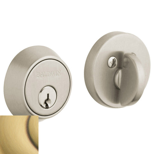 "Baldwin 8041 Contemporary 1-5/8"" Single Cylinder Deadbolt - Barzellock.com"