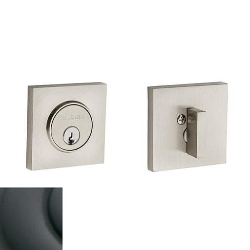 Baldwin 8220 Contemporary Square Single Cylinder Deadbolt - Barzellock.com