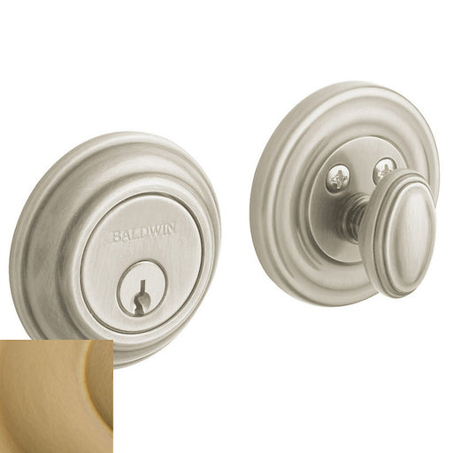 "Baldwin 8231 Traditional 2-1/8"" Single Cylinder Deadbolt - Barzellock.com"