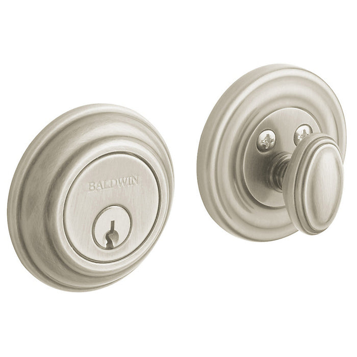 "Baldwin 8231 Traditional 2.125"" Patio Deadbolt - Barzellock.com"
