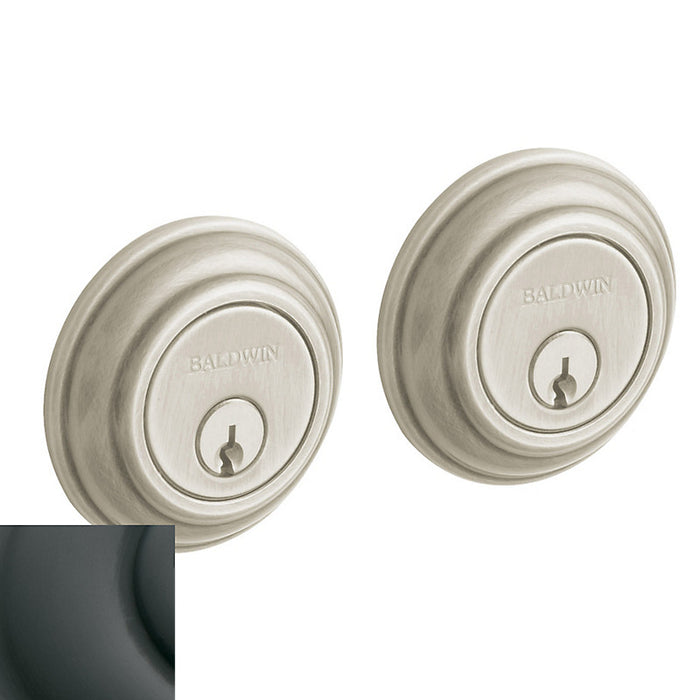 "Baldwin 8232 Traditional 2-1/8"" Double Cylinder Deadbolt - Barzellock.com"
