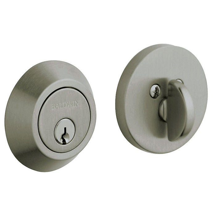 "Baldwin 8241 Contemporary 2-1/8"" Single Cylinder Deadbolt - Barzellock.com"