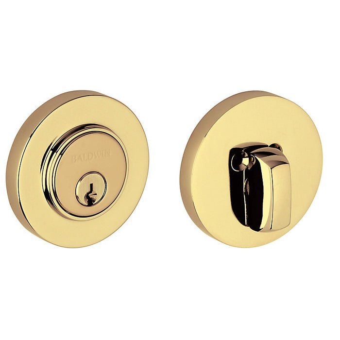 "Baldwin 8244 Contemporary Low Profile 2-1/8"" Single Cylinder Deadbolt"