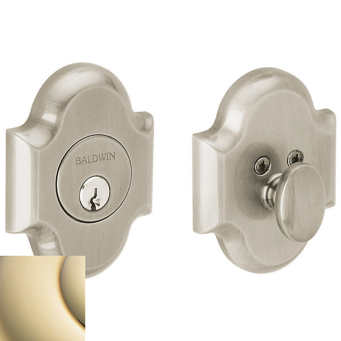 Baldwin 8252 Boulder Arched Single Cylinder Deadbolt