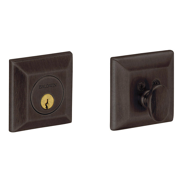 Baldwin 8254 Cody Squared Single Cylinder Deadbolt