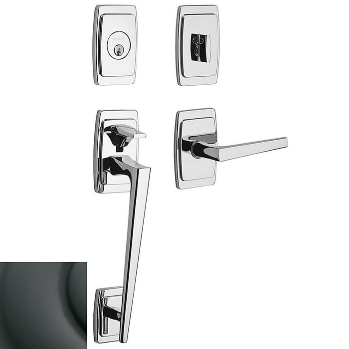 Baldwin 85395 Palm Springs Sectional Tubular Handleset with L024 Lever
