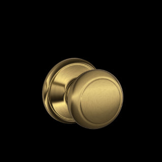 Schlage Andover Knob Antique Brass