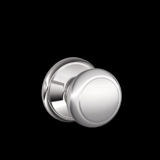 Schlage Andover Knob Bright Chrome