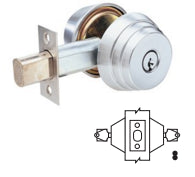 Arrow E62 Double Cylinder Deadbolt Grade 2 - Barzellock.com