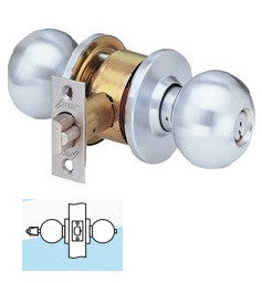 Arrow MK13 Exterior Knob Lock 26D Finish - Barzellock.com