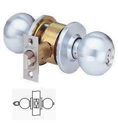 Arrow MK14 Service Station Knob Lock 26D Finish - Barzellock.com