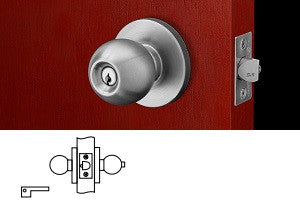 Corbin Russwin CK4430 Privacy, Bedroom or Bathroom Knob Lock - Barzellock.com