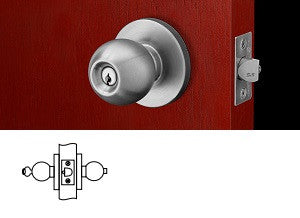 Corbin Russwin CK4451 Entrance or Office Knob Lock - Barzellock.com