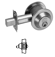 Corbin Russwin DL3013 Single Cylinder Deadlock
