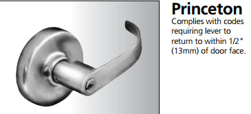 Corbin Russwin CL3851 Extra Heavy-Duty Commercial Entrance/Office Lever - Barzellock.com