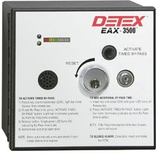 Detex EAX-3500 Hardwired Timed Bypass With Rechargeable Battery Door Alarm - Barzellock.com