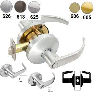 Falcon W201 Patio Lever Lock 626 Finish - Barzellock.com