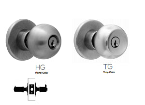 Falcon X101 Passage or Closet Knob Lock - Barzellock.com