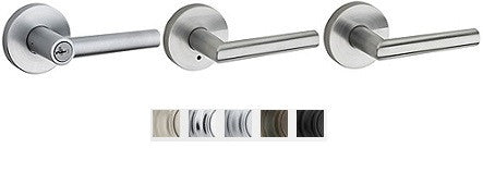 Kwikset Milan Lever Lock Passage, Privacy, Entrance & Dummy