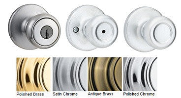 Kwikset Tylo Passage, Privacy, Dummy & Entrance Door Knobs - Barzellock.com
