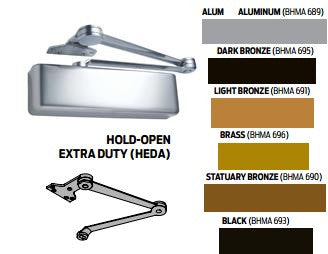 LCN 4040XP Extra Duty Hold Open Arm Door Closer 4040XP Series