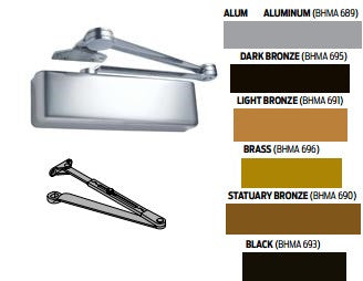 LCN 4040XP RW/PA Regular Arm Door Closer - Barzellock.com