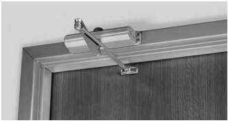 norton top jamb mount storefront door closer series u2014