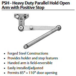 Sargent 281 Powerglide Cast Iron Door Closer - Barzellock.com