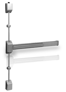 Sargent 3727 Surface Vertical Rod Exit Device With 12-Fire Option
