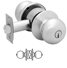 Sargent 6U65 Privacy or Bathroom Knob Lock - Barzellock.com