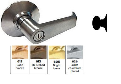 Schlage A170 Single Dummy Trim Levon Knob Lock A Series